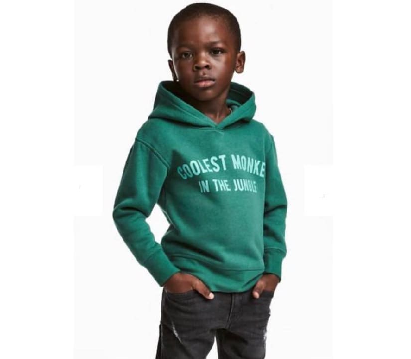 The 'coolest monkey in the jungle' ad campaign. Image from H&M.