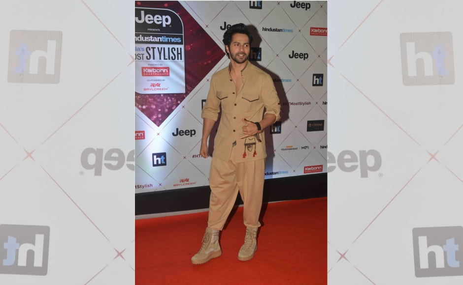 Varun Dhawan at the event. Image by Firstpost. Image by Firstpost.