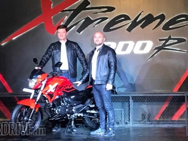 Hero Xtreme 200R performance motorcycle unveiled in India; price to be announced in April