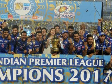 Mumbai Indians won the 2017 edition of IPL. AFP