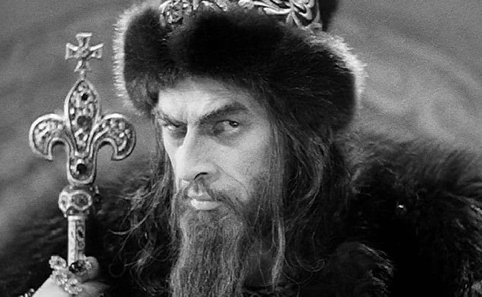 Eisenstein's two-part Ivan The Terrible was a personal favourite of Stalin but the second part was not released for another nine years, after the deaths of both the dictator and the filmmaker. Image via Twitter