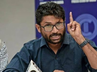 Journalists boycott Jignesh Mevanis press meet in Chennai after he asks English TV channel to leave