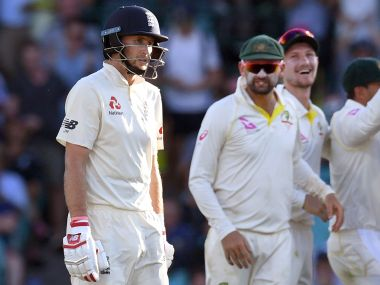 Joe Root fell just short of a century on the opening day of the Sydney Test. AFP