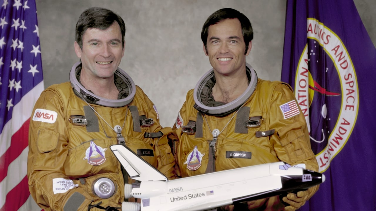STS-1 crew Young, left, and Crippen. NASA