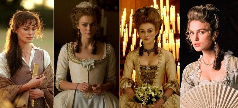 Keira Knightley has become a self-imposed queen of the costume drama