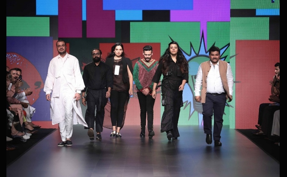 The 25th batch of 5 Gen Next designers presented by INIFD, take a bow