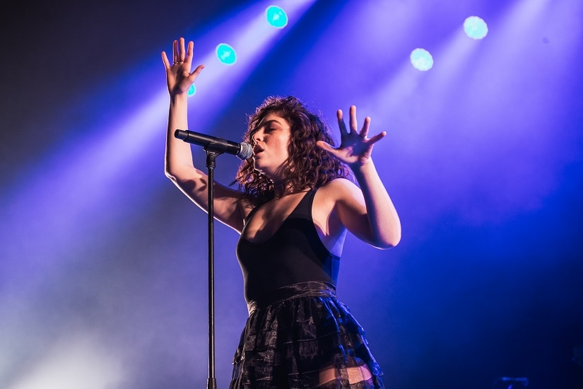 Lorde performs at the Roskilde Festival in Roskilde, Denmark. Image via Flickr/Krists Luhaers