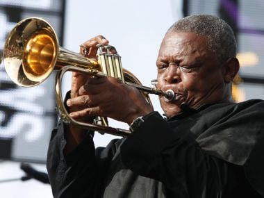 Legendary trumpeter Hugh Masekela, considered 'father of South African jazz', dies at 78