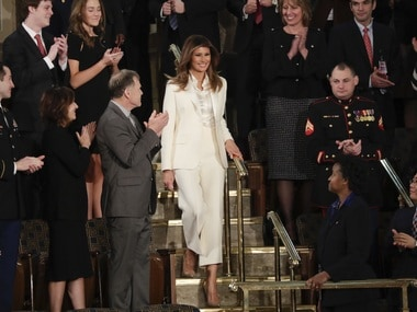 Melania Trump braves public eye after Donald Trump's cheating claims surface