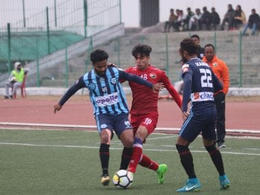 Minerva Punjab continued their dream run in the I-League with win over Shillong Lajong. Image Courtesy: I-League