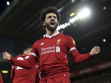 Liverpool's Mohamed Salah. AP