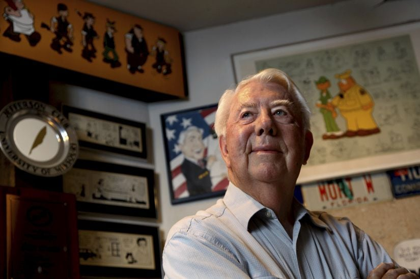 Cartoonist Mort Walker, creator of Beetle Bailey comic strip, passes away at 94