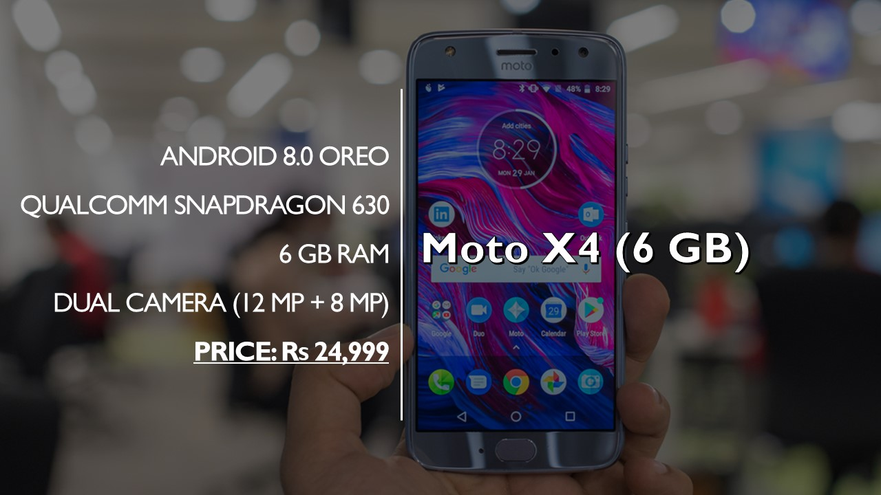 Moto X4 (6 GB) impressions: An excellent smartphone that
