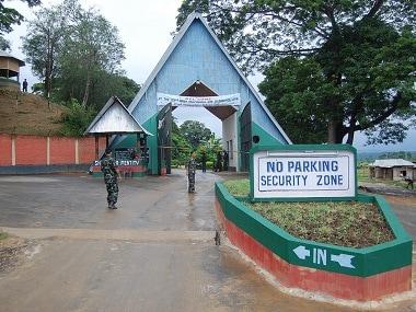 Headquarters of the NSCN(IM) near Dimapur, Nagaland. Firstpost/Rajeev Bhattacharyya