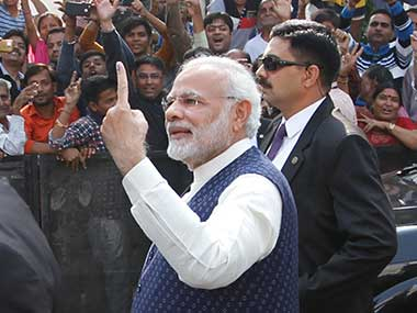 Prime Minister Narendra Modi has been backing for simultaneous elections to Assemblies and Parliament since 2014. AP
