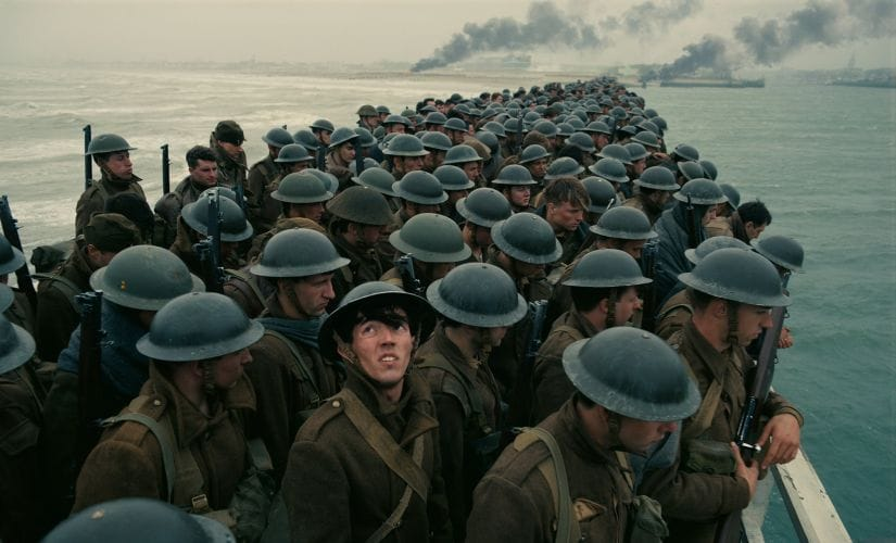 A still from Christopher Nolan's Dunkirk