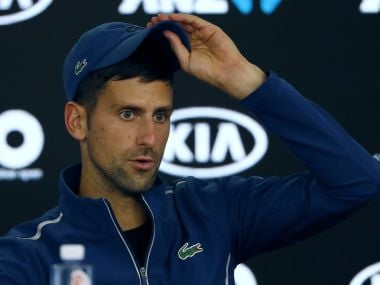 Novak Djokovic will reassess his fitness after Australian Open exit. AP