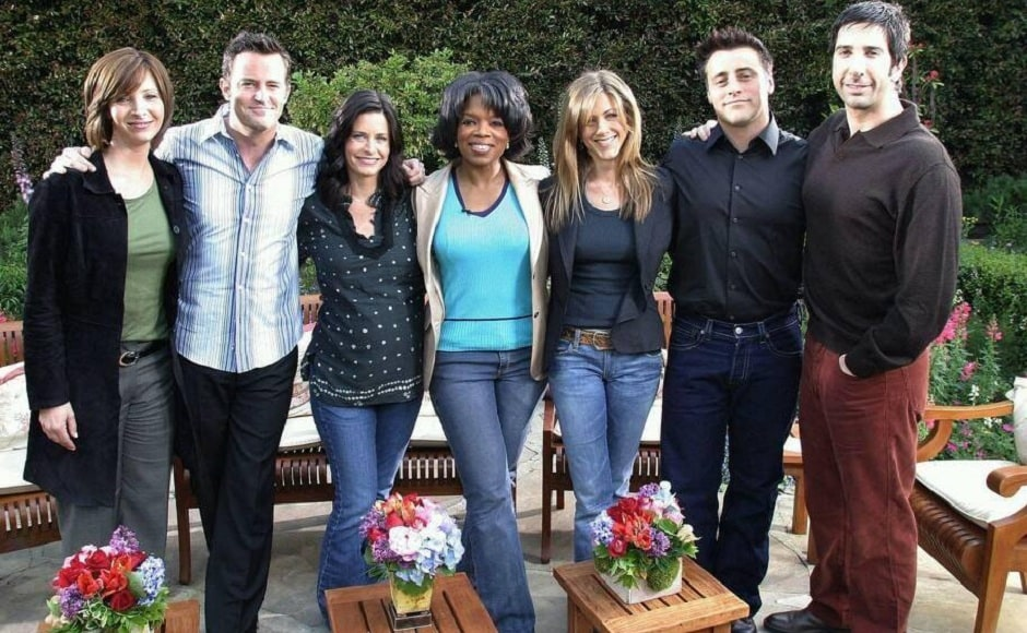 On 7 May, 2005 the finale episode of phenomenally popular sitcom F.R.I.E.N.D.S was premiered and left a generation into tears. Oprah met the cast a day later in what is termed as their last interview together. Facebook
