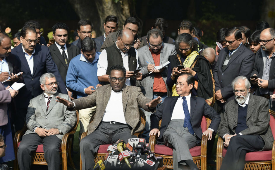 The four judgessaid they had written a letter to Chief Justice of Inda Dipak Misra some time back, raising important issues.