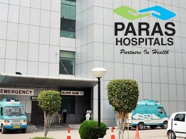Paras Hospital. Image courtesy: parashospitals.com