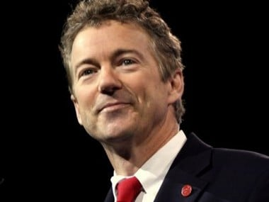 File image of US senator Rand Paul. Image courtesy: Twitter@RandPaul