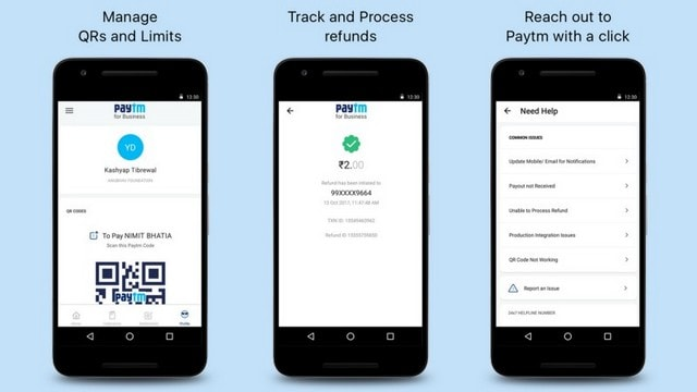 Paytm for Business releases days after WhatsApp for Business was launched outside India. Image: Paytm Blog