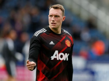 File image of Phil Jones. Reuters