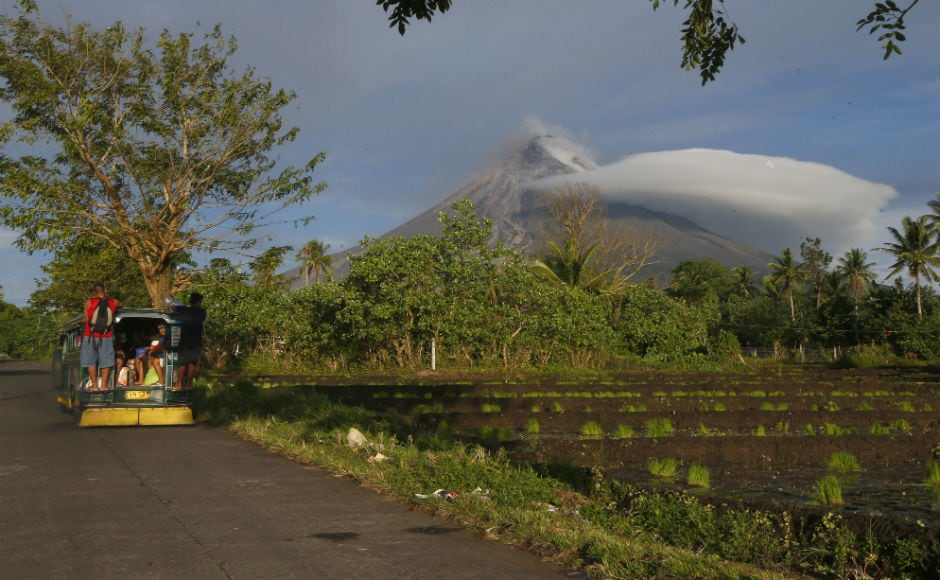 With 51 eruptions in the past four centuries, Mayon, a near-perfect 2,460-meter(8,070-foot) cone about 330 kilometres southeast of Manila, is the most active of the country's 22 volcanoes. AP
