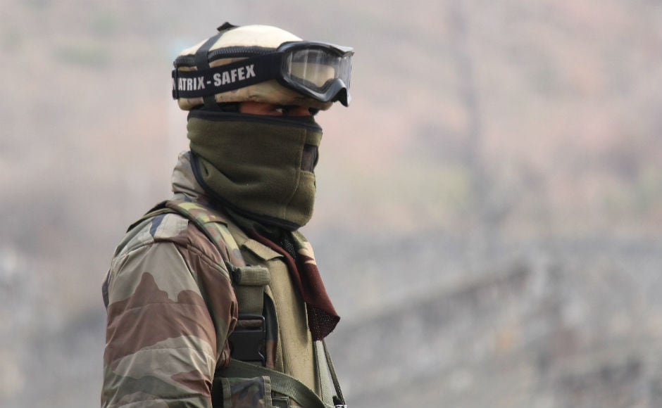The slain CRPF personnel have been identified as Inspector Kuldeep Roy, Head Constable Tufail Ahmad, and Constables Sharifuddin Ganai, Rajender Jain and Pradeep Kumar Panda. The CRPF camp that the terrorists attacked also serves as a training centre for troops inducted for counter-militancy operations in Kashmir Valley. Firstpost/Sameer Mushtaq