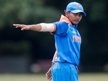 Prithvi Shaw will lead Indiain the ICC U-19 World Cup 2018. Image Courtesy: ICC