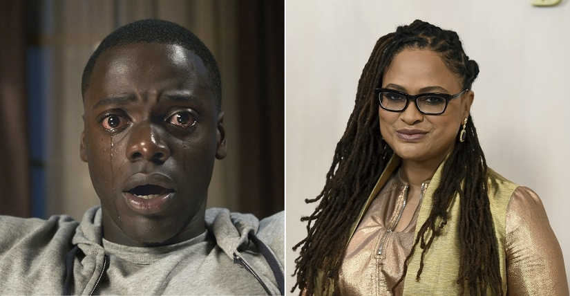 Get Out and Ava DuVernay (R) will be honoured by producers guild. AP