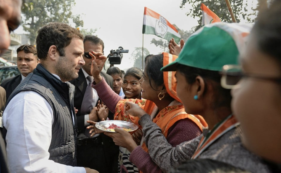 During the political tour, some BJP workers raised slogans against Rahul. A commotion ensued between the workers of the BJP and Congress, and the police had to intervene. PTI