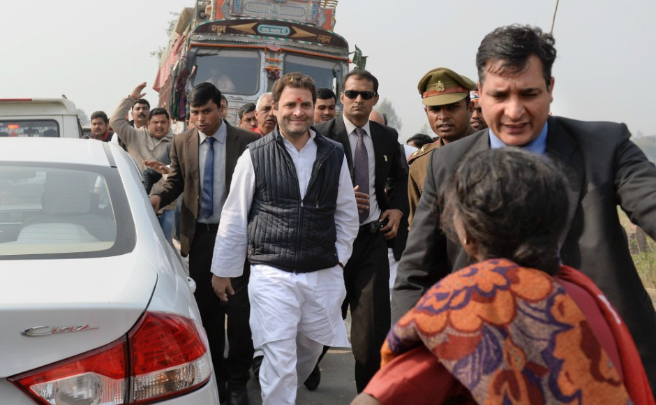 Rahul also talked about his developmental plans for Amethi in his speeches. He said,