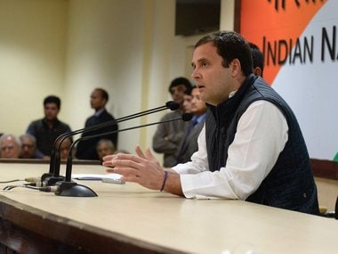 Rahul Gandhi watches Republic Day parade from sixth row instead of fourth; Congress slams cheap politics