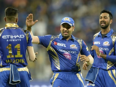 Rohit Sharma and the Pandya brothers, Hardik and Krunal, are part of what is considered to be the core of Mumbai Indians. AFP