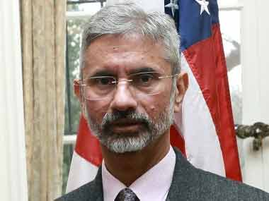 A file image of former Foreign Secretary S Jaishankar. Image courtesy: The Indian Embassy in Washington DC.