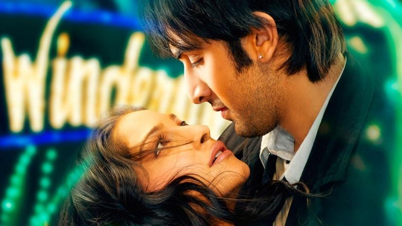 Ranbir Kapoor and Sonam Kapoor in the poster of Saawariya. Facebook