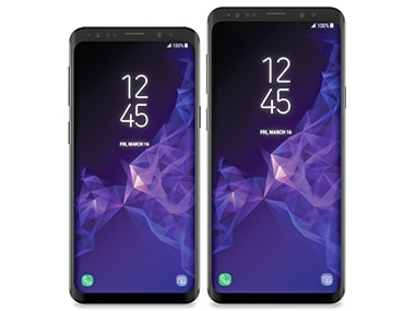 Leaked images of the Samsung Galaxy S9 and S9+ Image: Venturebeat