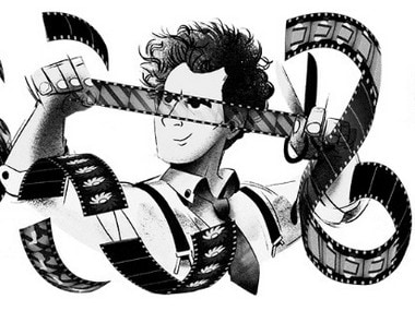 Google Doodle's tribute to Sergei Eisenstein. Google image