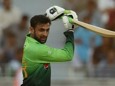 File image of Shoaib Malik. Image courtesy: Twitter @PCBofficial