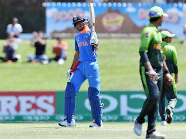ICC U-19 World Cup 2018: Shubman Gill, Ishan Porel star in Indias 203-run hammering of Pakistan
