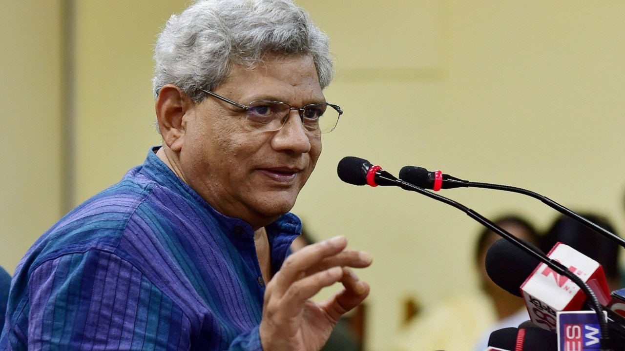 Armed with Supreme Court order, Sitaram Yechury meets ailing CPM ...