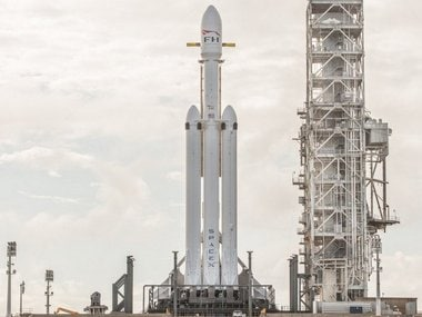 SpaceX Falcon Heavy.
