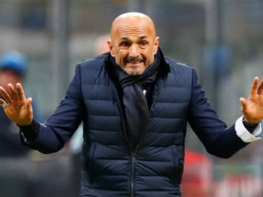 File image of Luciano Spalletti. Reuters