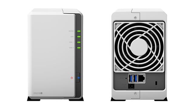 Synology DiskStation DS218j review: Indispensable for power users