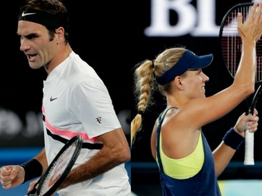 Roger Federer and Angelique Kerber are through to the fourth round with comfortable wins. AP