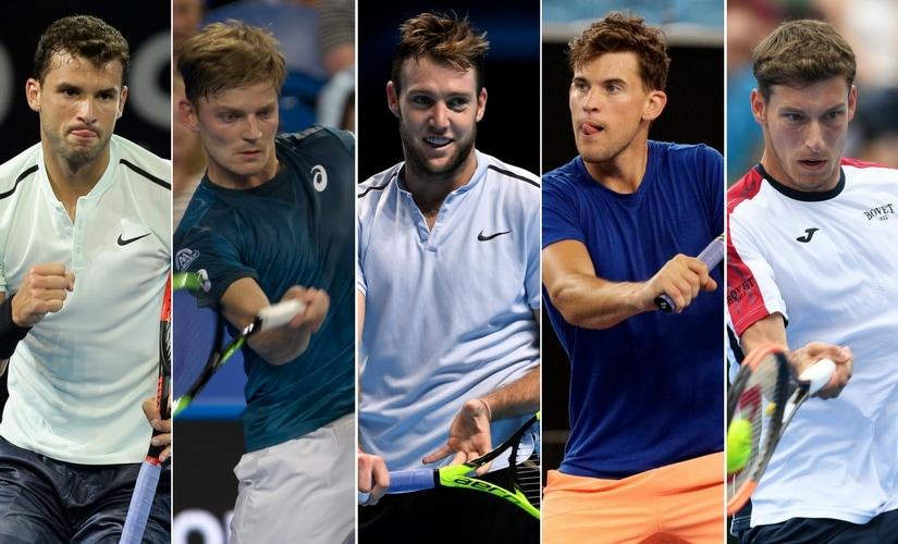 "Grigor Dimitrov, David Goffin, Jack Sock, Dominic Thiem and Pablo Carreno Busta comprise the ""lost generation"" of ATP. Agencies"