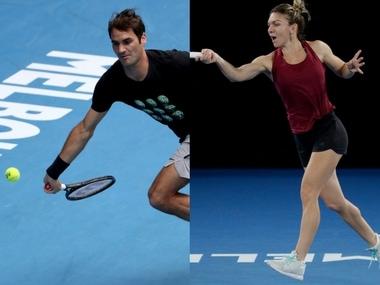 Australian Open 2018: Roger Federer, Simona Halep among stars in action on Day 2