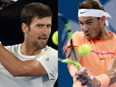 According to Roger Federer, Novak Djokovic and Rafael Nadal are favourites for the title.
