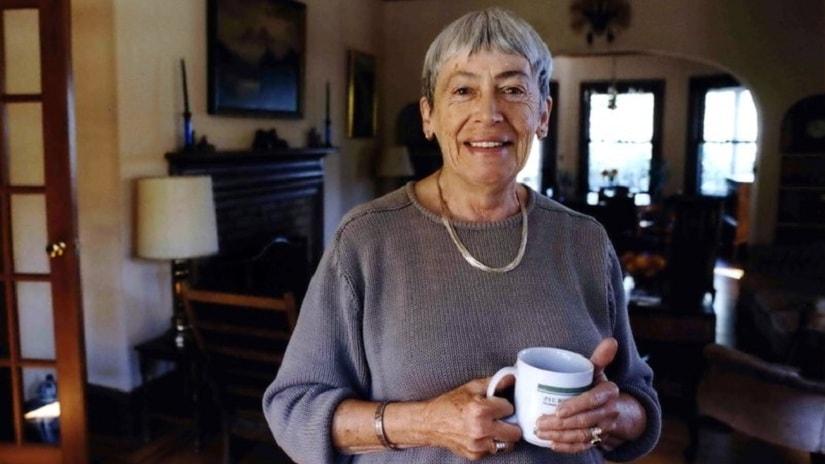 Ursula K Le Guin. AP